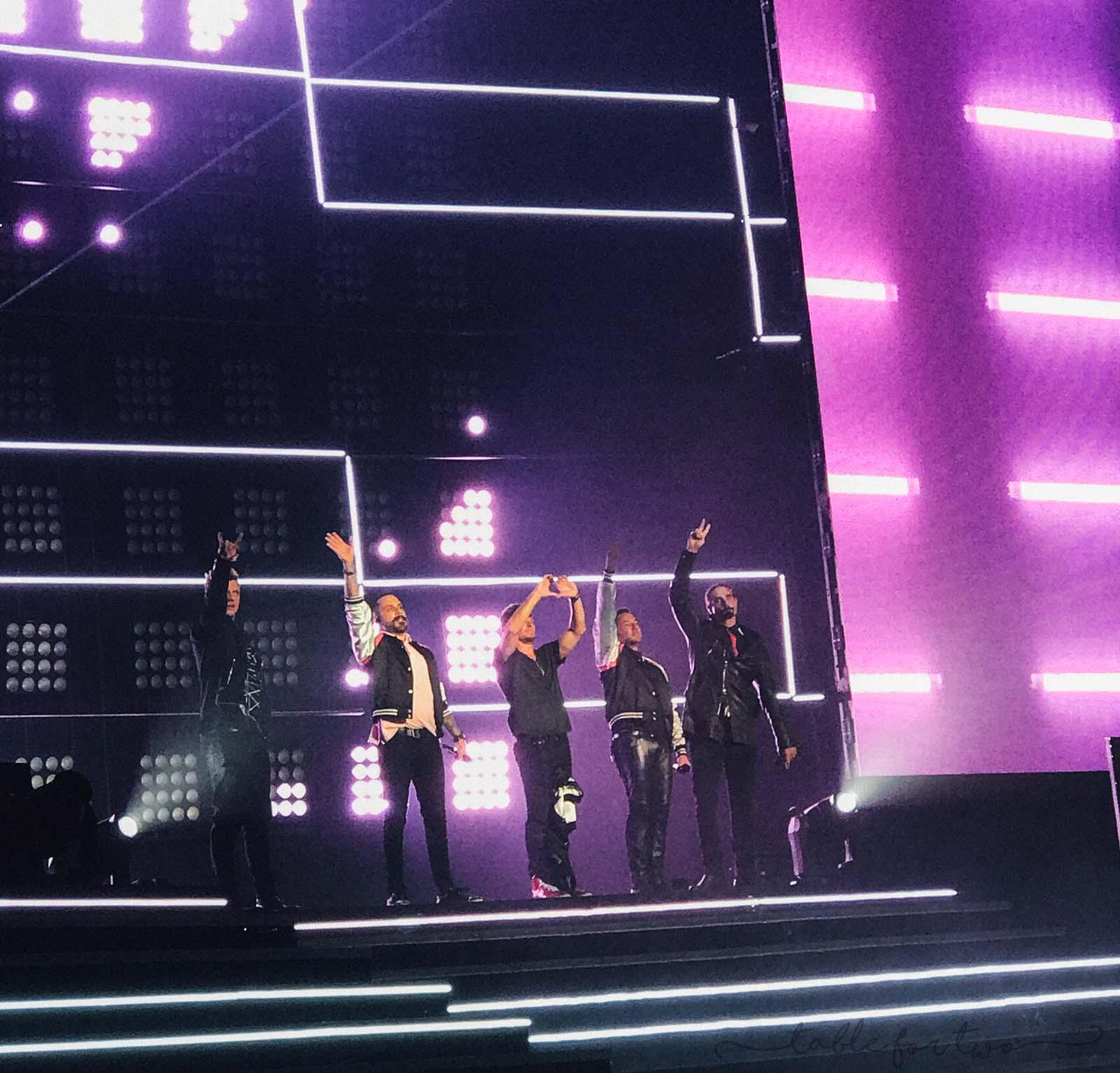 Backstreet Boys Concert in Las Vegas