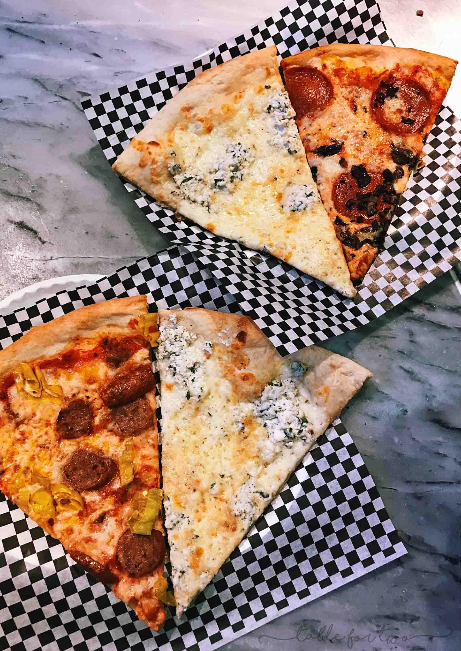 Secret pizzeria in The Cosmopolitan, Las Vegas, Nevada