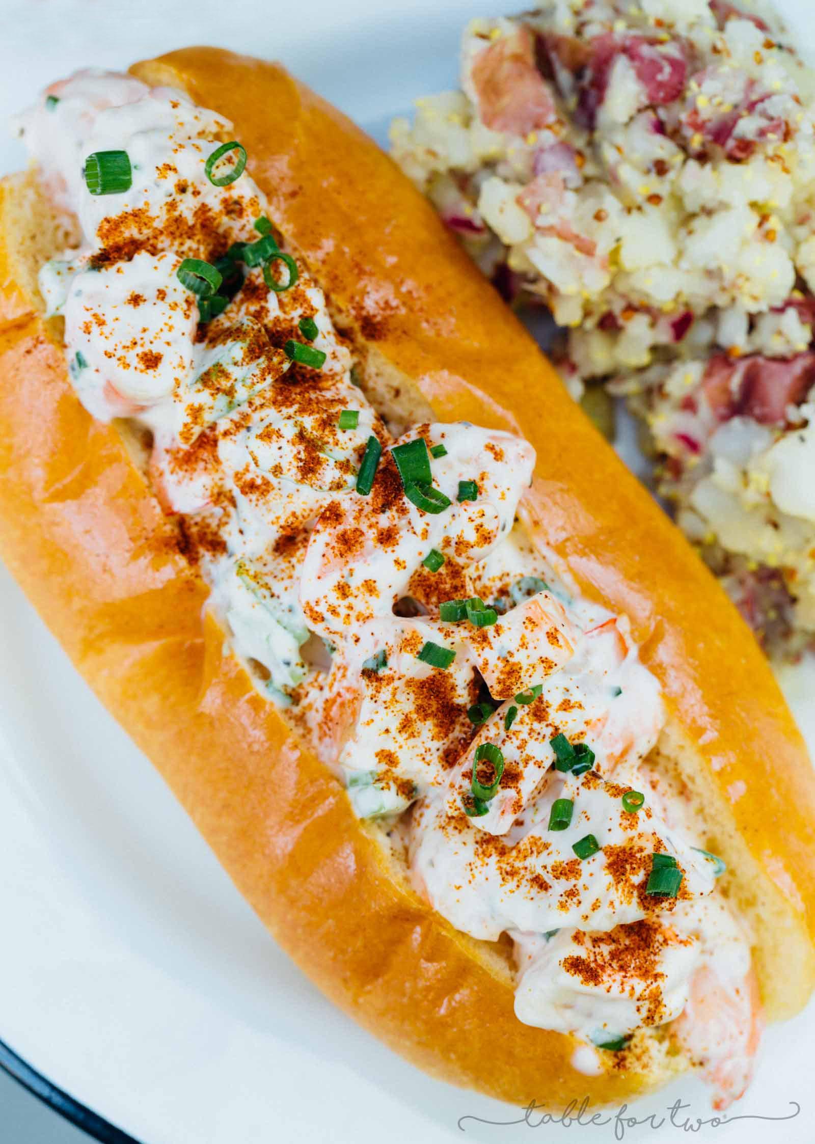 Shrimp Rolls Easy Summer Seafood Sandwich Rolls