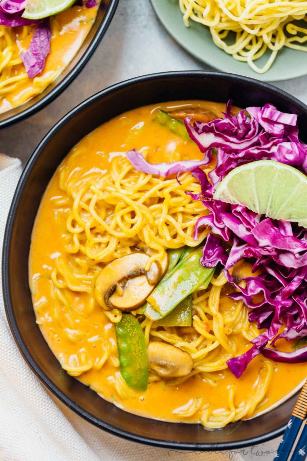 Coconut Curry Ramen Ramen Soup Bowl Recipe