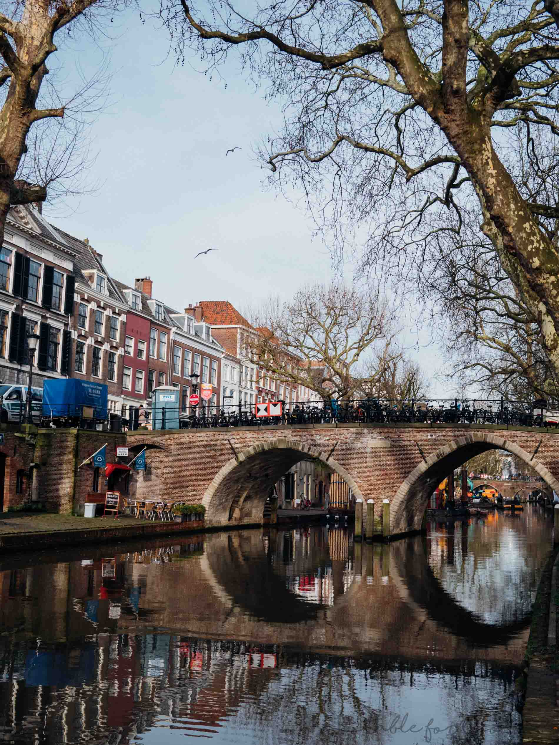 Utrecht, Netherlands is a quaint little scenic city 15 minutes, by train, outside of Amsterdam. It is so scenic and has the cutest cafes. Definitely worth a day trip especially since it's a 15 minute train ride!