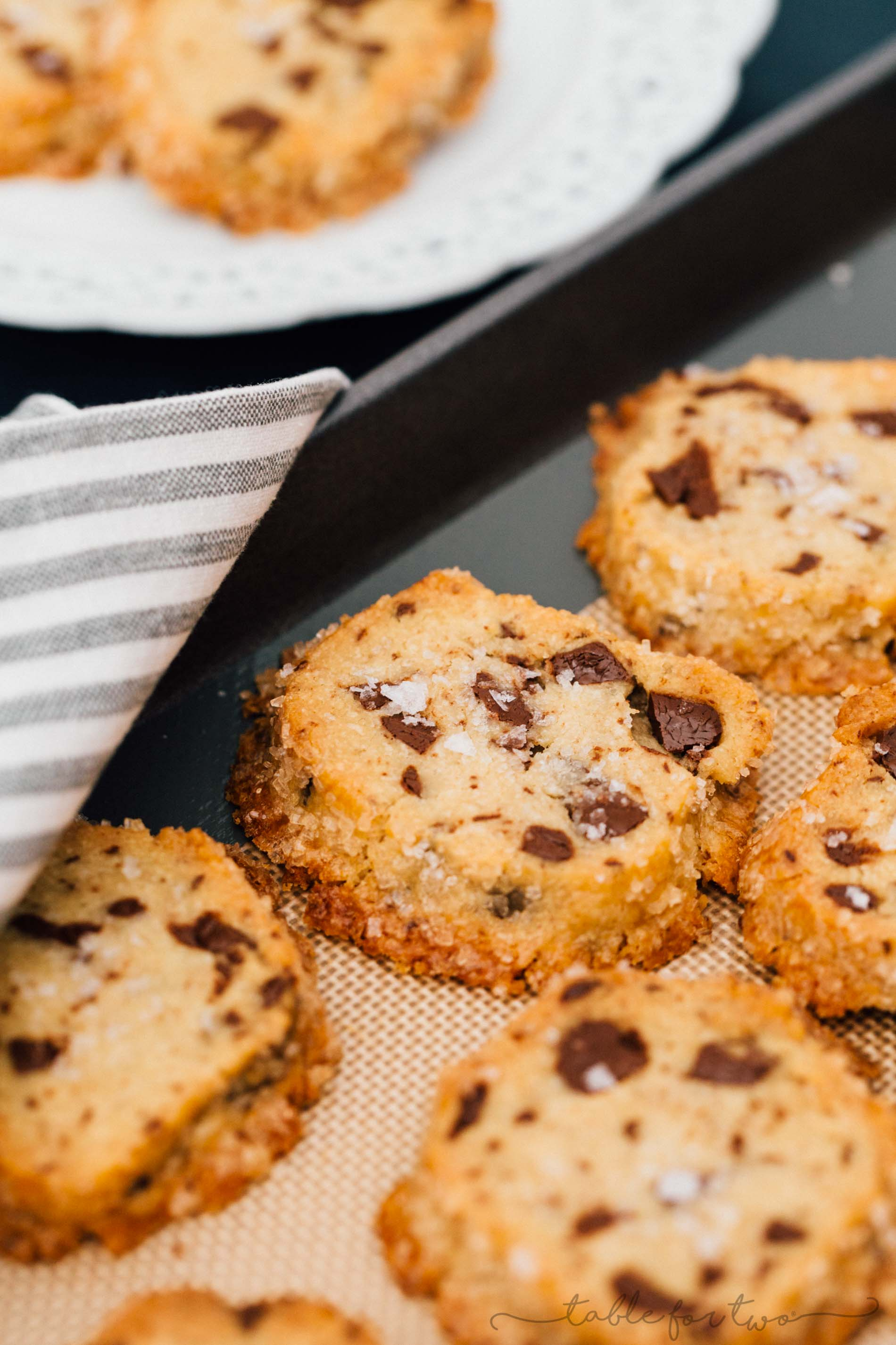 The cookies that broke the internet. These shortbread-based chocolate chip cookies are unlike any other cookie you've ever had before! You gotta give it a try!