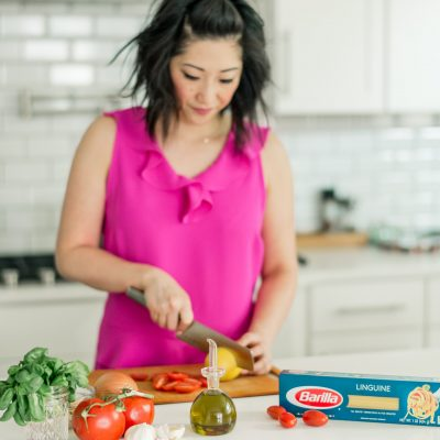 Who doesn't love pasta? #ad I love the versatility of pasta and all the dishes I can make with it in my own kitchen! In fact, there is an actual event hosted in Milan, Italy by @BarillaUS called the World Pasta Masters and I can't wait to gather inspiration from that competition and bring it home to my kitchen. #WorldPastaMasters #PassionforPasta #?