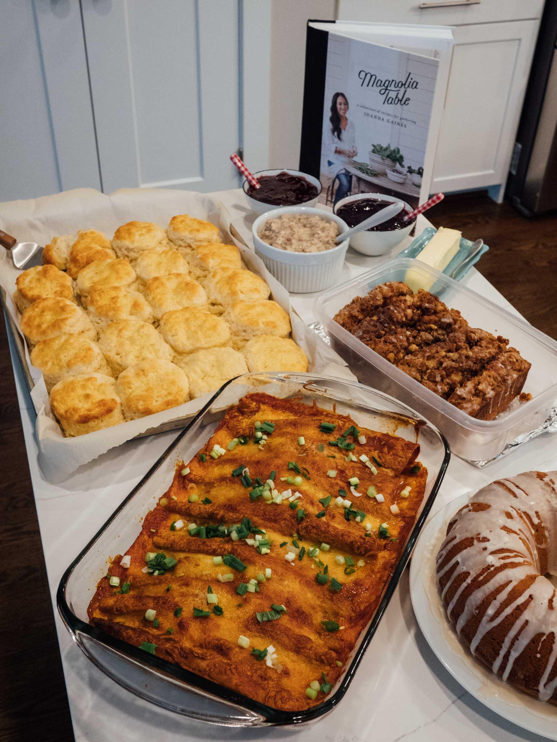 Cookbook Club Magnolia Table