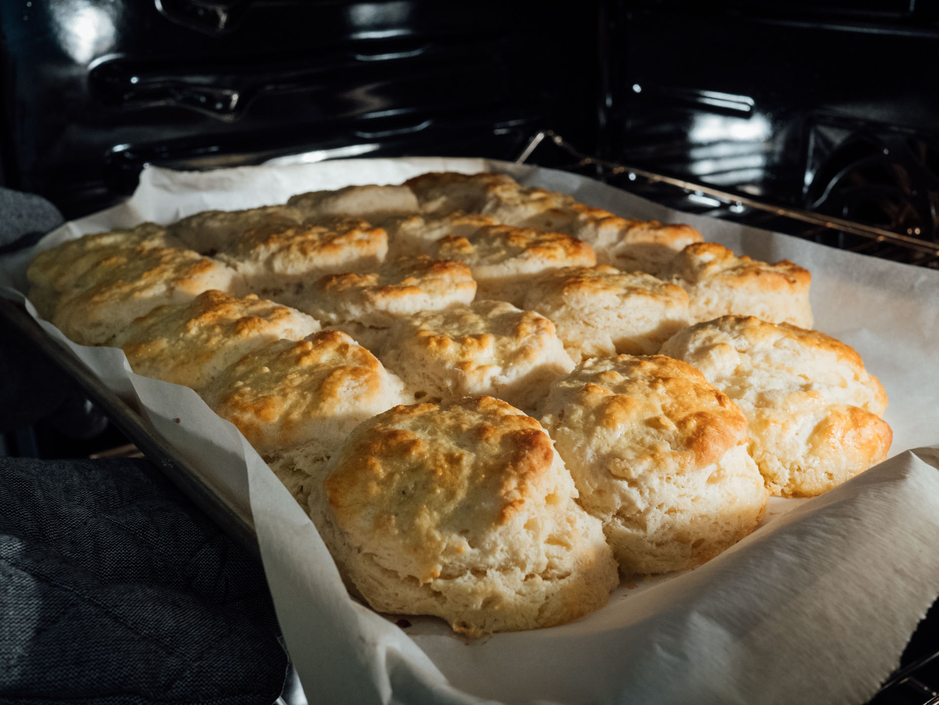 You'll want these biscuits on your breakfast table! They're so fluffy, buttery, and incredibly tender. You won't be able to just eat one! #biscuits #breakfast #breakfastrecipes