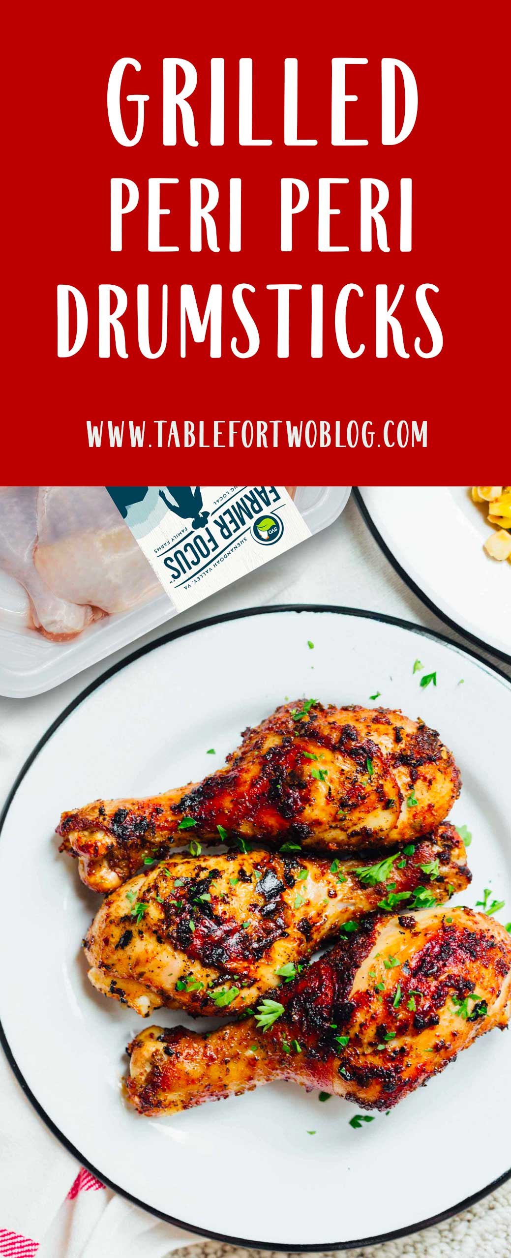 Grilled peri peri chicken drumsticks are the perfect addition to your summer grilling menu! They're easy to prepare and they are packed with flavor! #chicken #chickendinner #svorganic #periperi #drumsticks #chickenrecipes #grilling #grilledchicken #grillrecipes