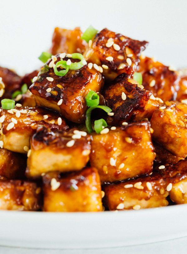Pan Fried Sesame Garlic Tofu Tips For Extra Crispy Pan Fried Tofu