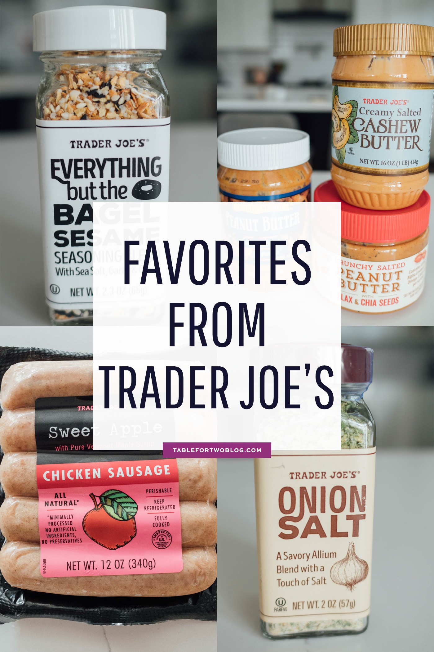 All my favorite items from Trader Joe's compiled into one giant list!