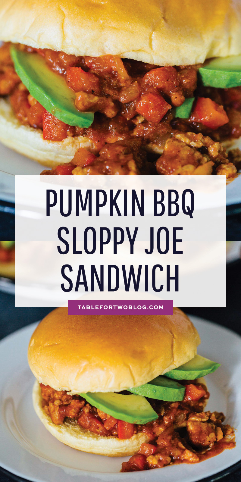 A great way to use pumpkin in a savory way! These pumpkin bbq sloppy joe's are filled with flavor and so easy to make on busy weeknights! #sloppyjoes #easyweeknightdinner #dinnerrecipe #sandwichrecipe