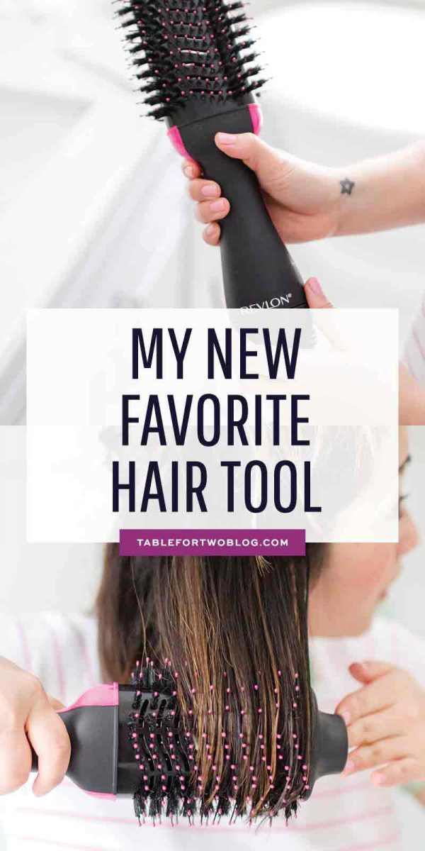 This Revlonhair dryer, specifically the Revlon One-Step Hair Dryer and Volumnizer is going to step up your hair game and you will look like you walked out of the salon EVERY TIME you use it. Best blow out of my life and I get SO many compliments! #revlon #revlonhairdryer #hairtool #hairdryer #hairdryerreview