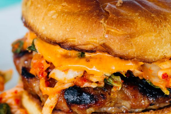 If you love the flavors of Korean bulgogi, then you'll absolutely love this bulgogi kimchi burger! It is so flavorful and one of our favorites!