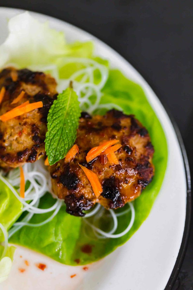 These lemongrass pork meatballs served in crisp lettuce cups will be a delicious addition to your dinner menu or even served as an appetizer!