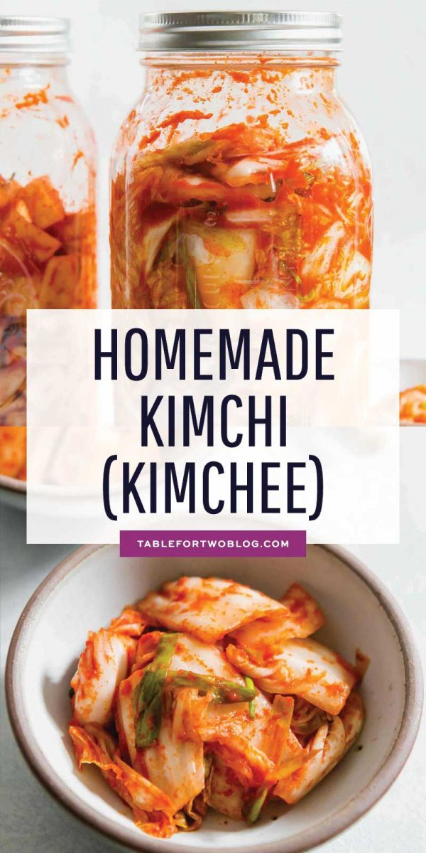 If you have ever wondered how to make homemade kimchi, my friend's Korean mom taught me how and we made a VIDEO! Go to the blog to see! #homemadekimchi #kimchi #kimchee #fermented #fermented cabbage #koreanfood #kimchirecipe