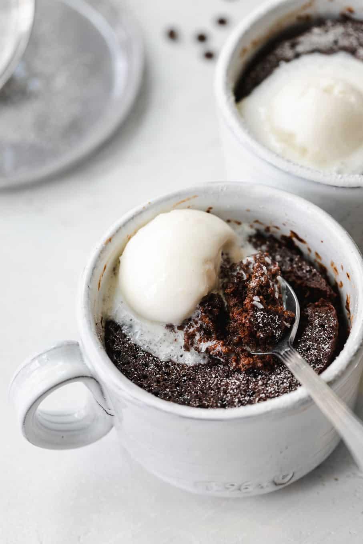 Espresso Chocolate Mug Cake Coffee And Chocolate Mug Cake Recipe
