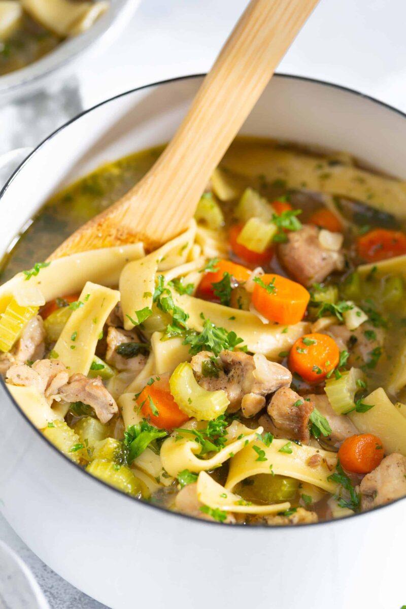 best chicken noodle soup » recette facile et saine