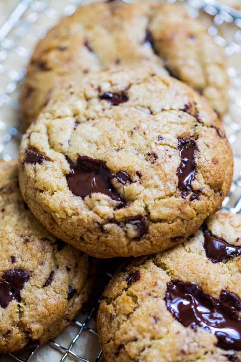 This is the only chocolate chip cookie recipe you'll ever need. One bake of these chocolate chip cookies and you'll understand why!