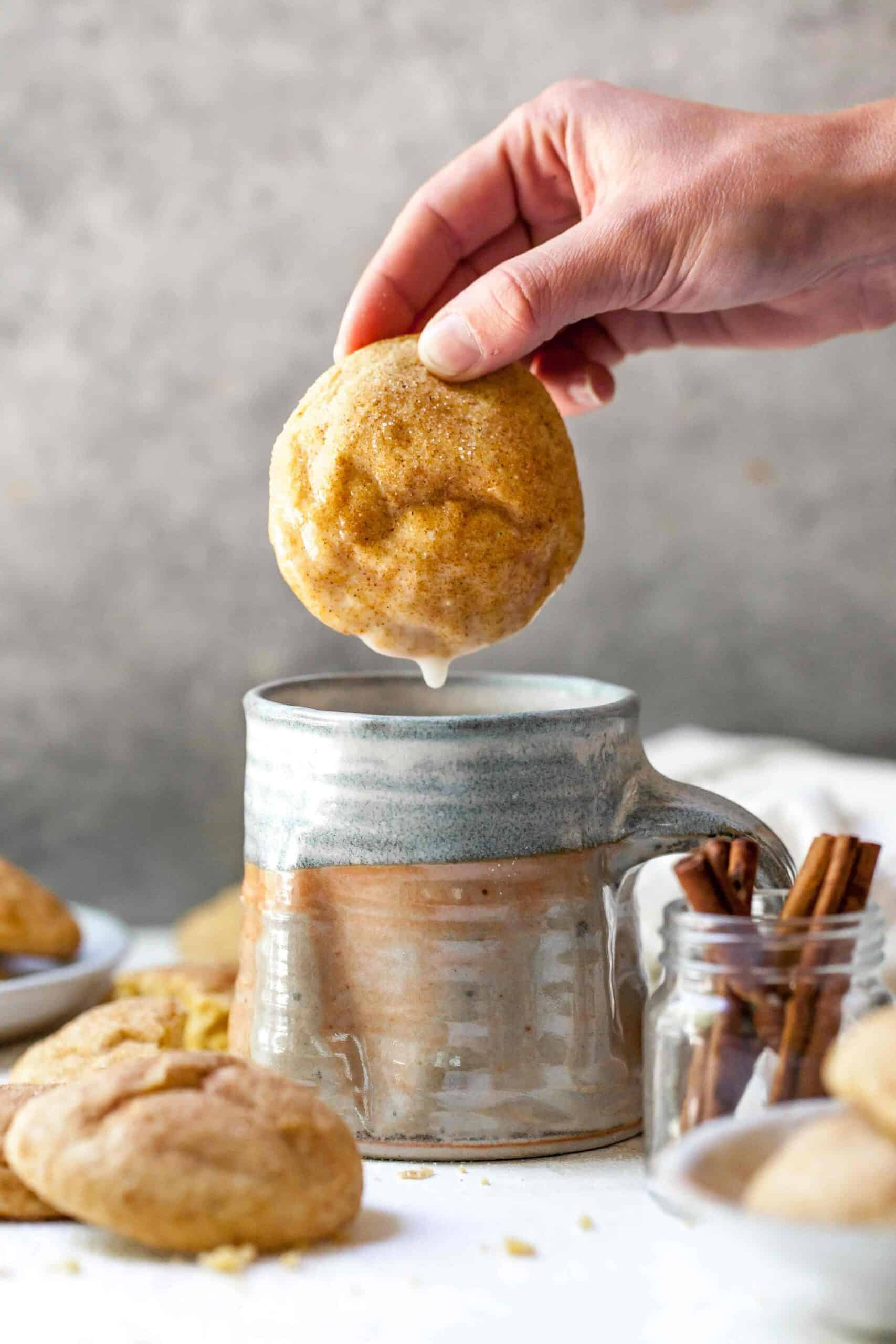Pumpkin spice snickerdoodles are the perfect Fall dessert! They're a Fall twist on the classic snickerdoodle and absolutely heavenly!