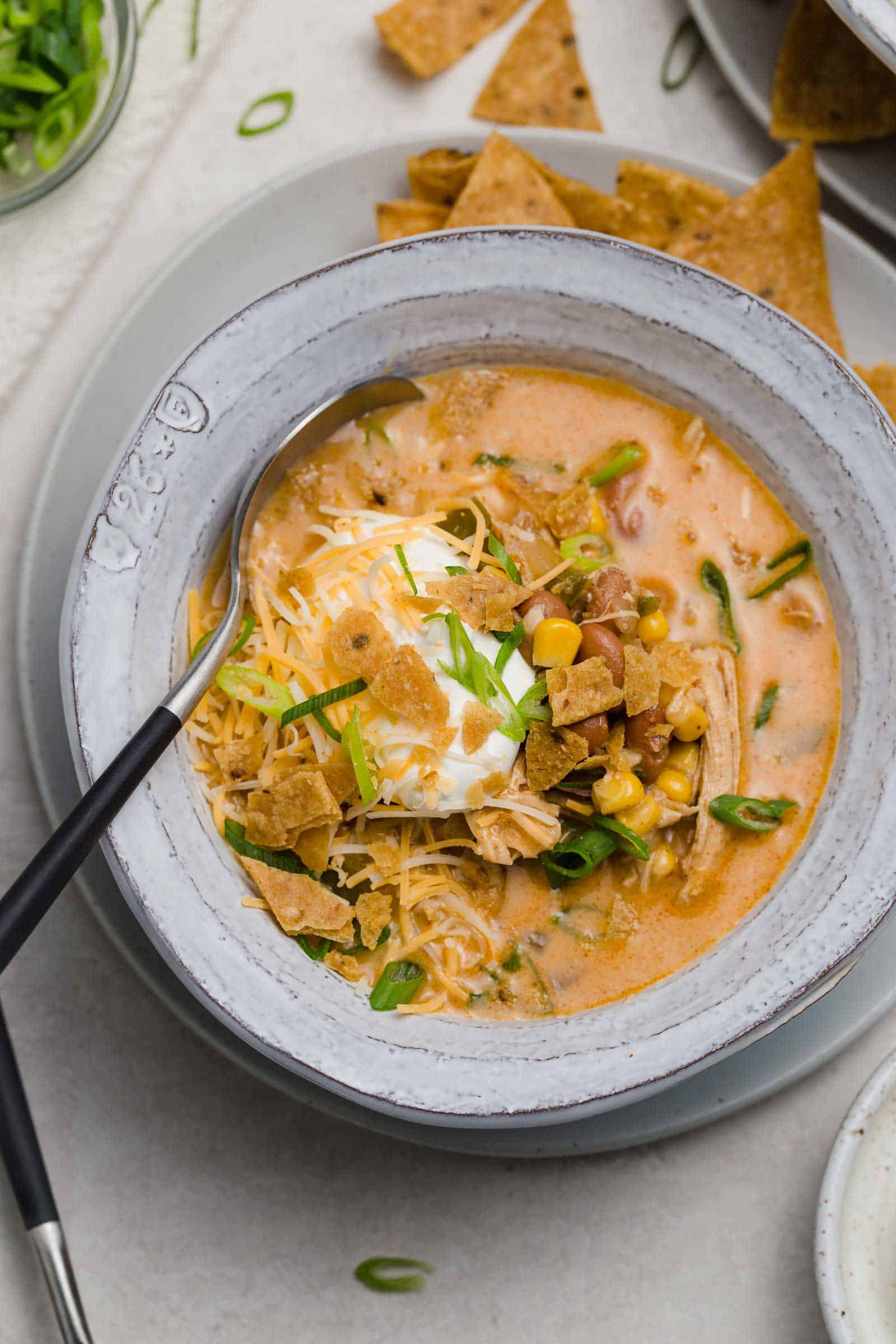 Southwest Chicken Chili Southwest Flavors In A Comforting Chili Dish