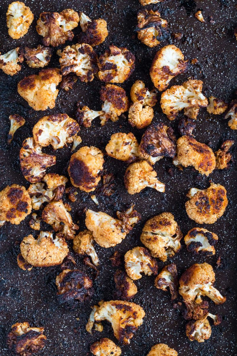 If there was ever a time to be obsessed with a vegetable, now is the time. Crazy roasted cauliflower is addicting AF and you seriously won't be able to get enough!